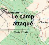 Le camp attaqué